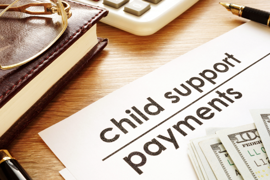 child supports payments